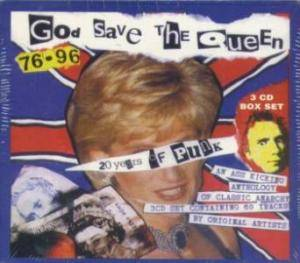 God Save The Queen 76-96 (20 Years Of Punk) - Cover