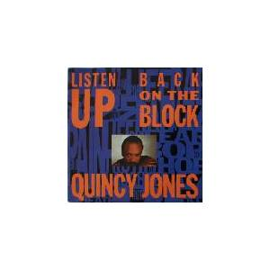 Quincy Jones: Back On The Block - Cover
