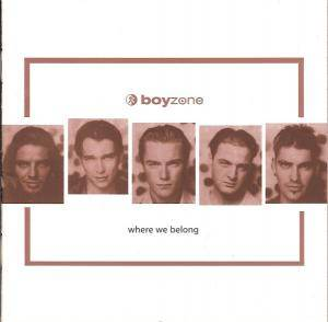 Cover - Boyzone: Where We Belong