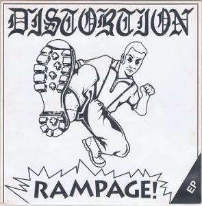 Cover - Distortion: Rampage!