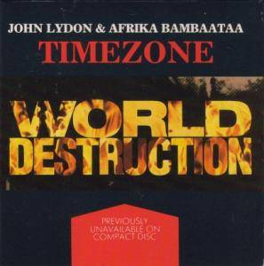 Cover - Time Zone: World Destruction