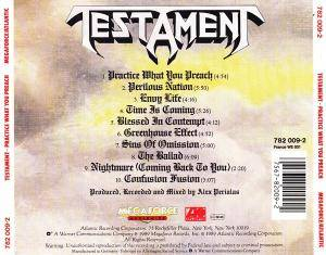 Testament: Practice What You Preach (CD) - Bild 3
