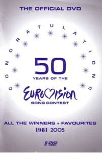 Cover - Charlotte Nilsson: Congratulations - 50 Years Of The Eurovision Song Contest 1981 2005