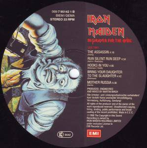 Iron Maiden: No Prayer For The Dying (LP) - Bild 4