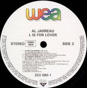 Al Jarreau: L Is For Lover (LP) - Bild 4