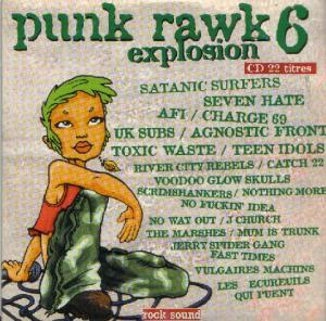 Rock Sound (F) - Punk Rawk Explosion Vol. 06  ~ Hors-Serie - Cover
