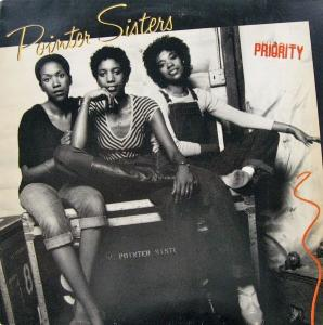 Pointer Sisters, The: Priority - Cover