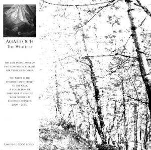 Agalloch: White EP, The - Cover
