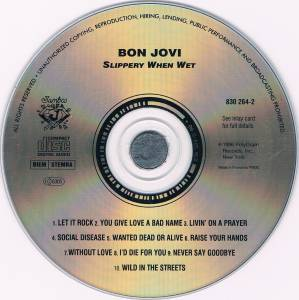 Bon Jovi: Slippery When Wet (CD) - Bild 3