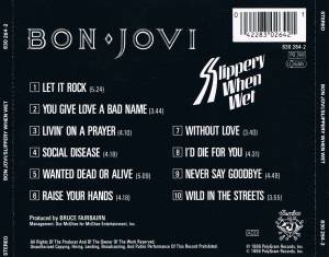 Bon Jovi: Slippery When Wet (CD) - Bild 5