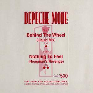 Depeche Mode: Behind The Wheel - Cover