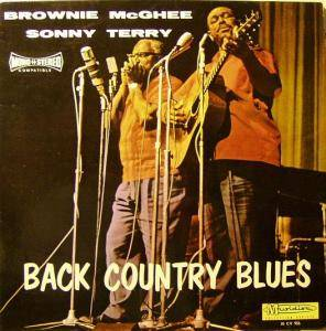 Cover - Sonny Terry & Brownie McGhee: Back Country Blues