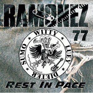 Ramonez '77: Rest In Pace - Cover