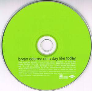 Bryan Adams: On A Day Like Today (CD) - Bild 3