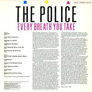 The Police: Every Breath You Take - The Singles (LP) - Bild 2