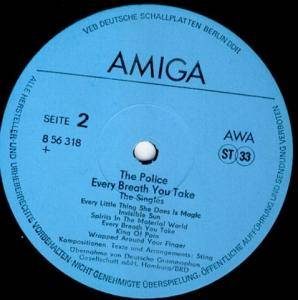 The Police: Every Breath You Take - The Singles (LP) - Bild 4