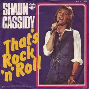 Cover - Shaun Cassidy: That's Rock'n Roll
