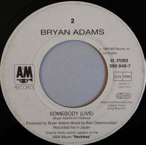 "Bryan Adams: Thought I'd Died And Gone To Heaven (7"") - Bild 4"