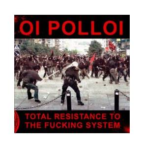 Cover - Oi Polloi: Total Resistance To The Fucking System