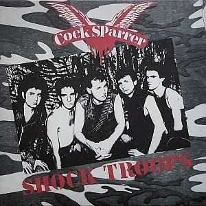 Cock Sparrer: Shock Troops - Cover