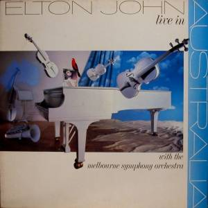 Elton John: Live In Australia (With The Melbourne Symphony Orchestra) - Cover