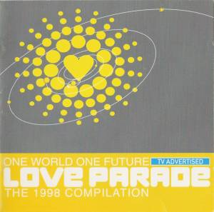 Cover - Camisra: Love Parade Compilation 1998 One Love One Future