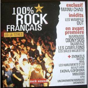 Cover - Ekova: Rock Sound (F) - 100% Rock Francais No.3