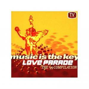 Cover - Camisra: Love Parade Compilation 1999 Music Is The Key