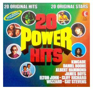 20 Power Hits - Cover