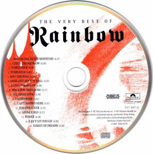 Rainbow: The Very Best Of Rainbow (CD) - Bild 3