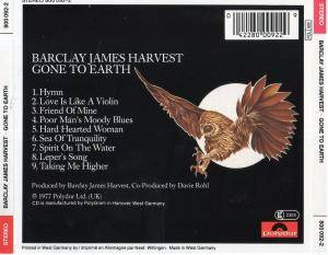 Barclay James Harvest: Gone To Earth (CD) - Bild 3