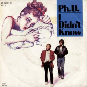 Cover - Ph.D.: I Didn't Know