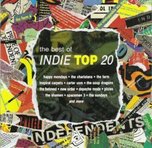 Indie Top 20 - The Best Of Indie Top 20 - Cover