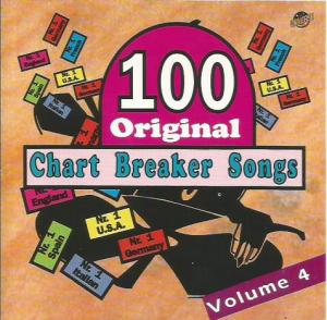 100 Original Chart Breaker Songs Volume 4 - Cover