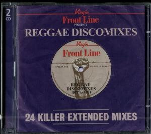 Frontline Presents Reggae Discomixes: 24 Killer Extended Mixes - Cover