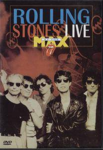 The Rolling Stones: Live At The Max - Cover