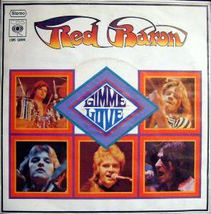 Cover - Red Baron: Gimme Love