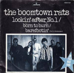 The Boomtown Rats: Lookin' After No. 1 - Cover
