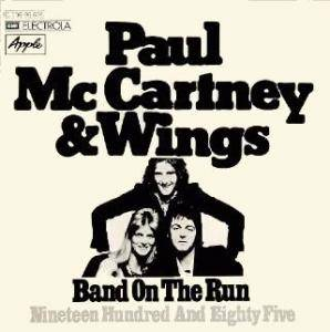 Paul McCartney & Wings: Band On The Run - Cover