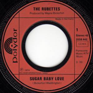 "The Rubettes: Sugar Baby Love (7"") - Bild 2"