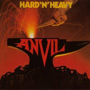 Cover - Anvil: Hard'n'Heavy
