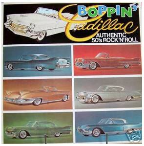 Cover - Sammy Masters: Boppin' Cadillac