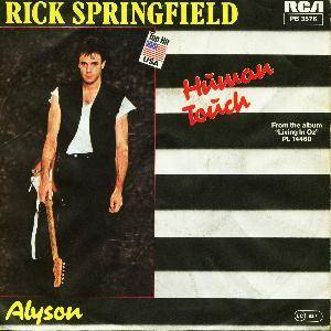 Rick Springfield: Human Touch - Cover