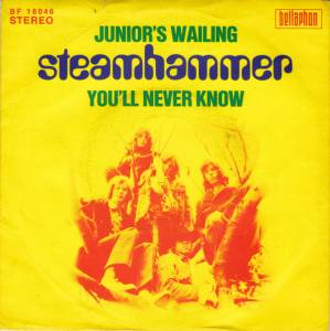 Cover - Steamhammer: Junior's Wailing