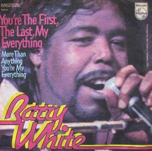 Barry White: You're The First, The Last, My Everything - Cover