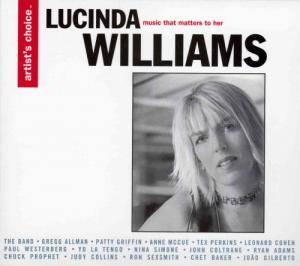 Cover - Yo La Tengo: Artist's Choice - Lucinda Williams: Music That Matters to Her