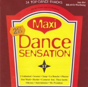 Maxi Dance Sensation 17 - Cover
