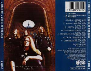 Messiah: Choir Of Horrors (CD) - Bild 2