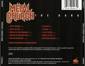Metal Church: The Dark (CD) - Bild 3