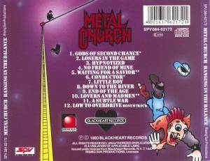 Metal Church: Hanging In The Balance (CD) - Bild 2